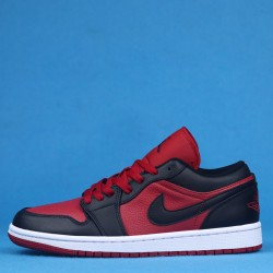 "Air Jordan 1 Low ""Gym Red"" Red Black 553558-610 36-46"