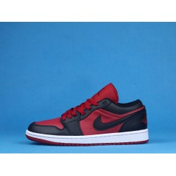 "Air Jordan 1 Low ""Gym Red"" Red Black 553558-610 36-46"