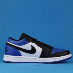 "Air Jordan 1 Low ""Black University Gold"" White Blue Black 553558-071 36-46"