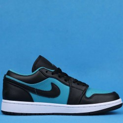 Air Jordan 1 Retro Low Black Blue 553558-026 36-46