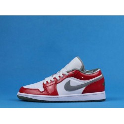 "Air Jordan 1 Retro Low ""South Side"" White Red 309192-171 36-47"