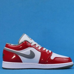 "Air Jordan 1 Retro Low ""South Side"" White Red 309192-171 36-47"