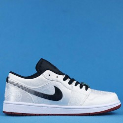 "Clot x Air Jordan 1 Low ""Fearless"" White Black CU2804-100 36-46"