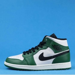 "Air Jordan 1 Mid ""Multi-Color"" Green White Black 852542-301 40-46"