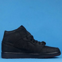 "Clot x Air Jordan 1 Mid ""Fearless"" Triple Black CU2804-002 40-46"