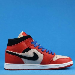 "Air Jordan 1 Mid ""Team Orange"" Orange Black White 852542-800 36-46"