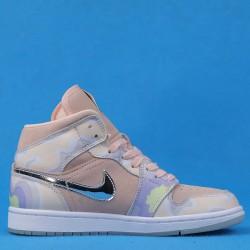 "Air Jordan 1 Mid ""P(Her) Spective"" Pink Purple CW6008-600 36-46"