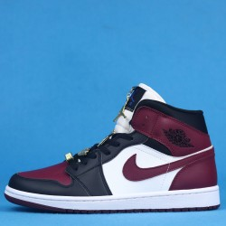 "Air Jordan 1 Mid ""Fearless"" Red White Black CZ4385-016 36-46"