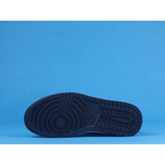 "Sale Air Jordan 1 Mid SE ""Obsidian"" Johnny Kilroy Black White 554724-174 36-46 Shoes"