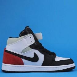 "Air Jordan 1 Mid ""Red Mint"" White Black Red BQ6931-100 35"