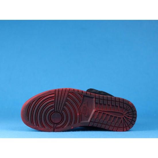 "Sale Clot x Air Jordan 1 Mid ""Fearless"" Black Silver CU2804-002 36-46 Shoes"