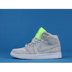 "Melody Ehsani x Air Jordan 1 Mid WMNS ""Ghost Green"" Fearless White Green CV3018-001 36-46"