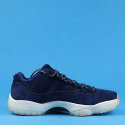 "Air Jordan 11 Low ""Re2pect"" Blue White AV2187-441 40-46"