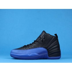 "Air Jordan 12 ""Game Royal"" Black Blue 130690-014 40-46"