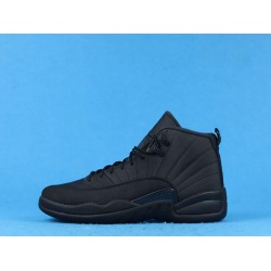 "Air Jordan 12 Retro ""Triple Black""Wntr Family Pack Black BQ6851-001 40-46"