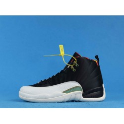 "Air Jordan 12 Retro ""Chinese New Year"" Black White CI2977-006 40-46"