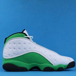 "Air Jordan 13 ""Lucky Green"" White Green Black DB6537-113 40-46"