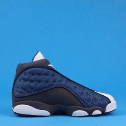 "Air Jordan 13 Retro ""Flint"" GIGI Blue Black White 414571-401 40-46"