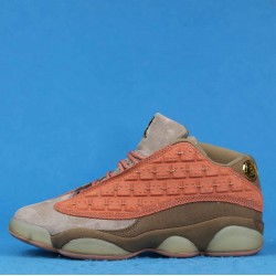 "Clot x Air Jordan 13 Low ""Terracotta"" Pink Brown AT3102-200 40-46"