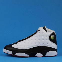 "Air Jordan 13 ""He Got Game"" Black White 414571-104 36-46"