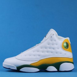 "Air Jordan 13 GS ""Playground"" White Orange Yellow CV0785-158 36-40"
