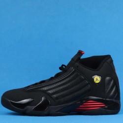"""Air Jordan 14 """"Last Shot"""" Black Red 487471-003 40-46"""