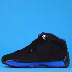 "Air Jordan 18 ""Black Sport Royal"" Black Blue AA2494-007 40-46"