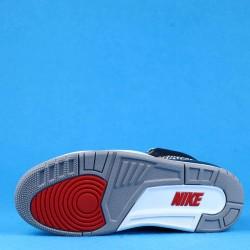 """Air Jordan 3 """"Black Cement"""" Gray Black Red 854262-001 40-46"""