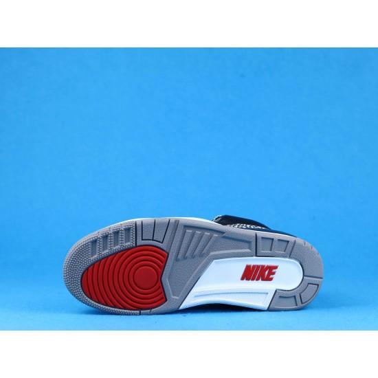 Air Jordan 3 Black Cement Gray Black Red 854262-001 40-46