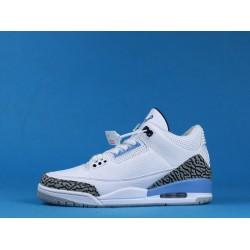 """Air Jordan 3 Retro """"UNC"""" Valor Blue White Black CT8532-104 40-46"""