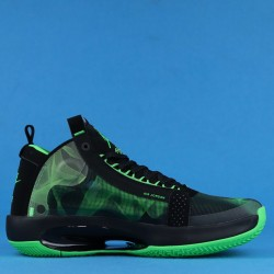 "Air Jordan 34 Eclipse ""Paranorman"" Black Green BQ3381-300 40-46"