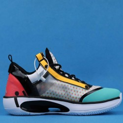 "Air Jordan 34 Low ""Guo Ailun"" Pink Orange Blue CZ7748-100 40-46"