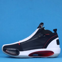 "Air Jordan 34 SE PF ""All-Star Game"" Bred Black White Red CU1548-001 40-46"