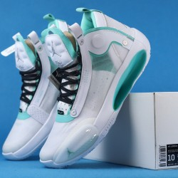 "Air Jordan 34 ""Guo Ailun"" White Green BQ3381-103 36-46"