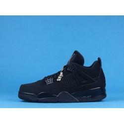 "Air Jordan 4 ""Black Cat"" Triple Black CU1110-010 40-46"