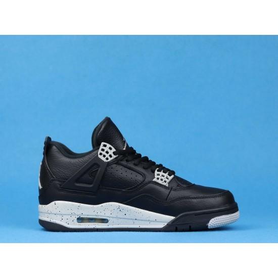 Air Jordan 4 Oreo Remastered Black White 314254-003 40-46