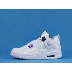 "Air Jordan 4 ""Purple Metallic"" White Purple CT8527-115 40-46"