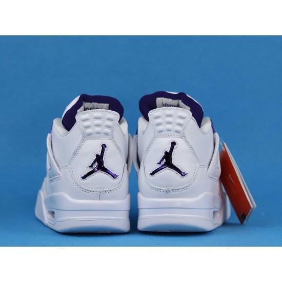 Air Jordan 4 Purple Metallic White Purple CT8527-115 40-46