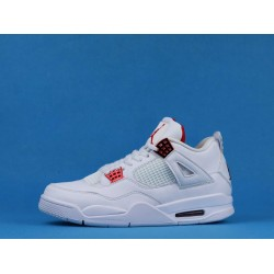 "Air Jordan 4 ""Red Metallic"" White Red CT8527-112 40-46"