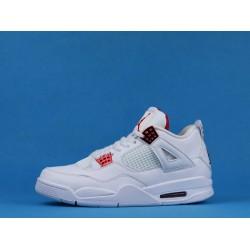 """Air Jordan 4 """"Red Metallic"""" White Red CT8527-112 40-46"""