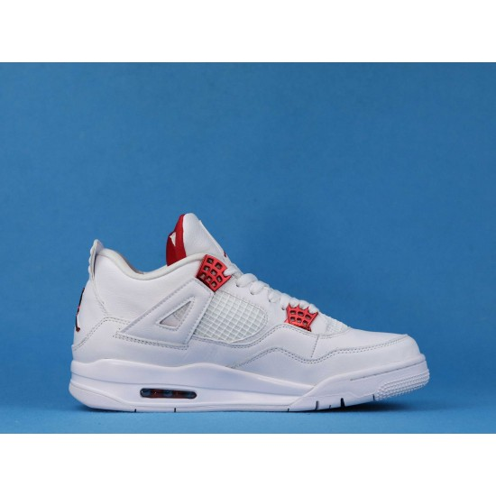 Air Jordan 4 Red Metallic White Red CT8527-112 40-46