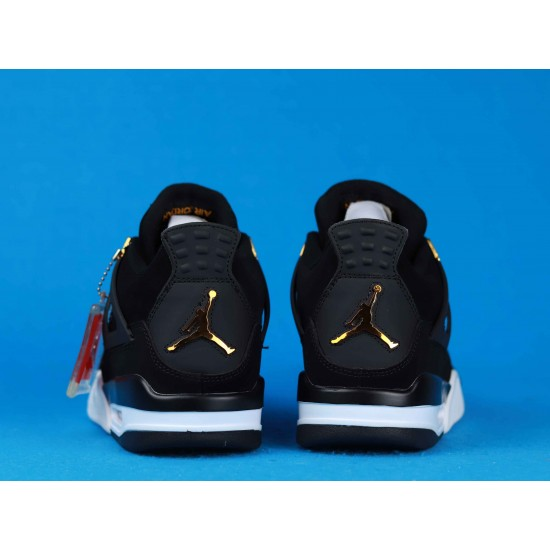 Air Jordan 4 Royalty Black Gold 308497-032 40-46