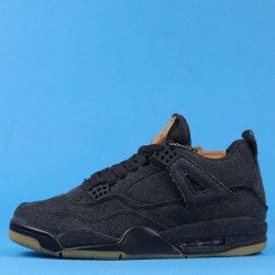 "Levis x Air Jordan 4 ""Denim Black"" Brown Black AO2571-001 40-46"