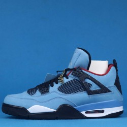 "Travis Scott x Air Jordan 4 ""Cactus Jack"" Blue Black 308497-406 40-46"