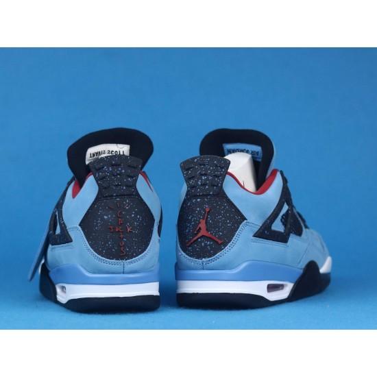 Travis Scott x Air Jordan 4 Cactus Jack Blue Black 308497-406 40-46