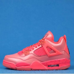 "Air Jordan 4 Retro Wmns NRG ""Hot Punch"" Pink Black AQ9128-600 36-46"