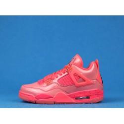 "Air Jordan 4 Retro Wmns NRG ""Hot Punch"" Pink Black AQ9128-600 36-46"