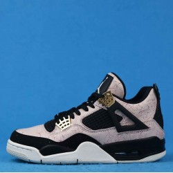 "Air Jordan 4 ""Splatter"" Silt Red Black Pink Gold AQ9129-601 36-46"