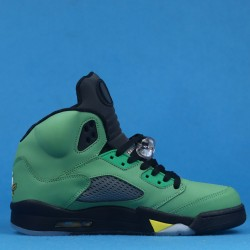 "Air Jordan 5 ""Oregon"" Ducks Green Yellow CK6631-307 40-46"