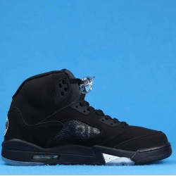 "Air Jordan 5 ""Paris Saint Germain"" Black Silver AV9175-001 40-46"